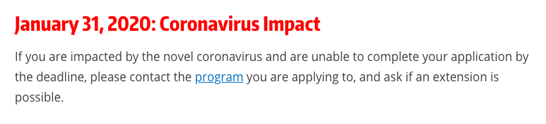 university of washington - coronavirus - update